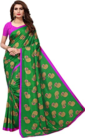 Indian Bollywood Crepe Saree Pakistani Traditional Wear Women/'s Clothing Sari