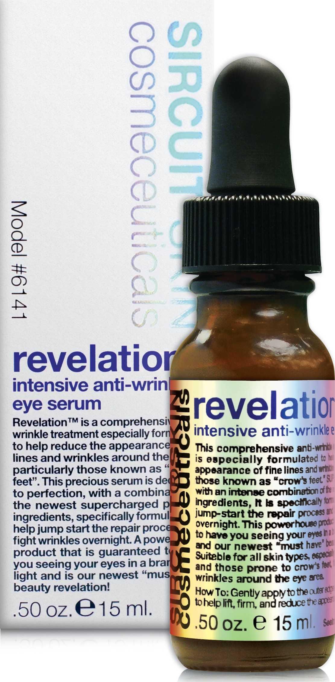 Sircuit Skin REVELATION Intensive Anti-Wrinkle Eye Serum (0.5 Ounces)