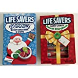 LifeSavers Christmas Sweet Story Book Hard Candy Book and Lifesavers Gummies Sweet Game Book