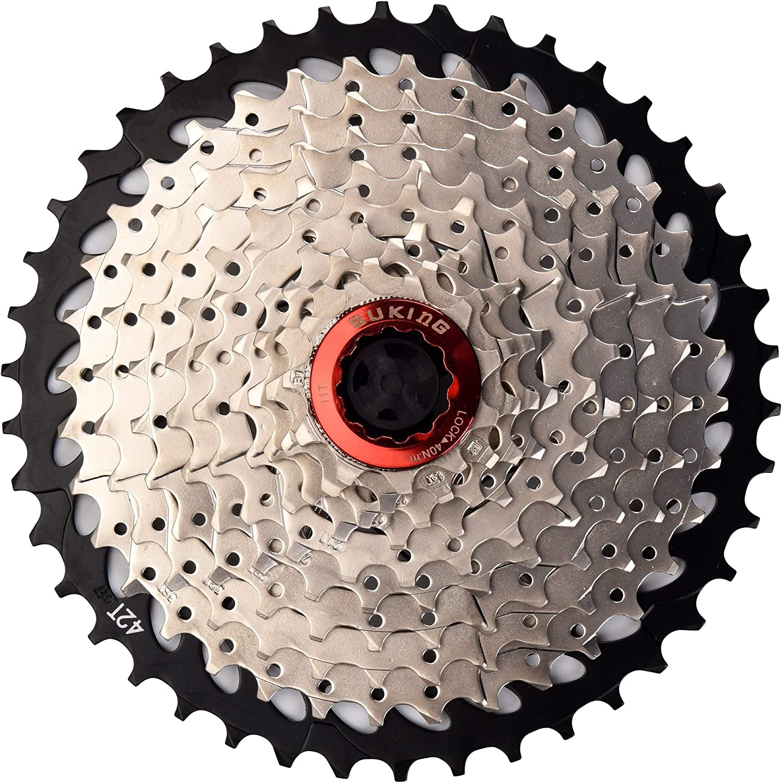 Sunrace MX3 Mountain Bike Bicycle Shimano 10 Speed Cassette 11-46T Black