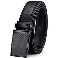 Belt for Men,Bulliant Men's Click Ratchet Belt Of Genuine Leather,Trim to Fit
