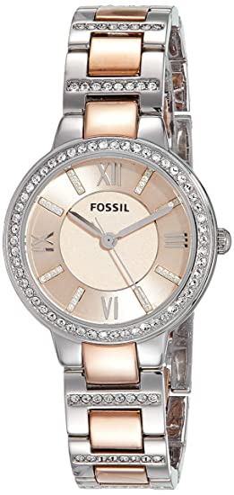 7682796666169 Buy (Certified Refurbished) Fossil Virginia Analog Pink Dial Women s ...