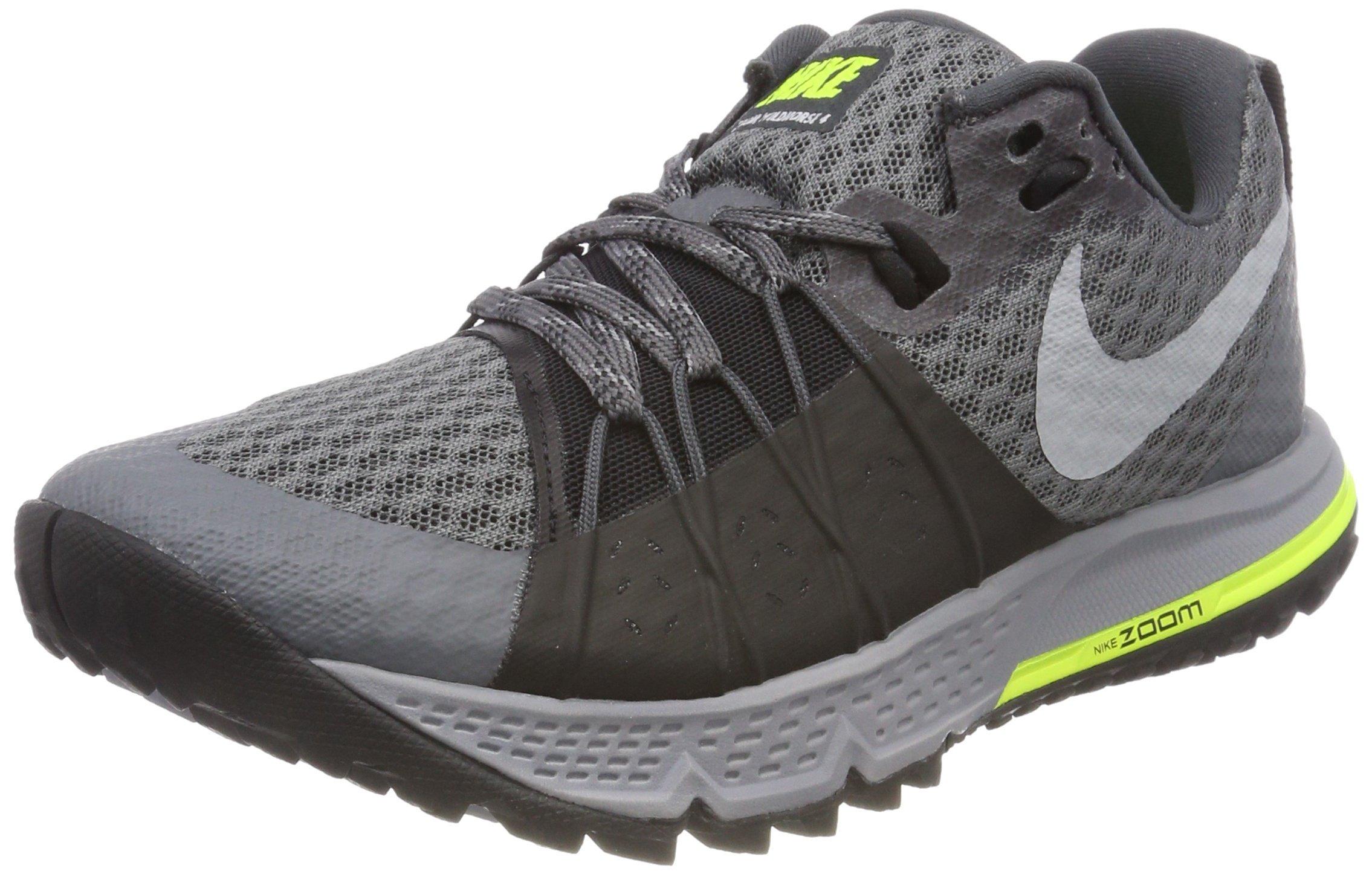 20e8567bd2e Galleon - Nike Air Zoom Wildhorse 4 Sz 8.5 Womens Running Dark Grey Wolf  Grey-Black-Stealth Shoes