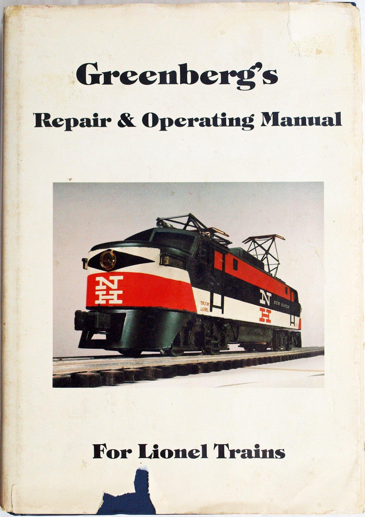 Greenbergs Repair Operating Manual For Lionel Trains Postwar Wiring Diagrams 9780442228446 Books