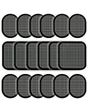 18 Pieces Electrodes Pads, Updated Electrodes Body Pads Gel Adhesive, Compatible with Abs Belt