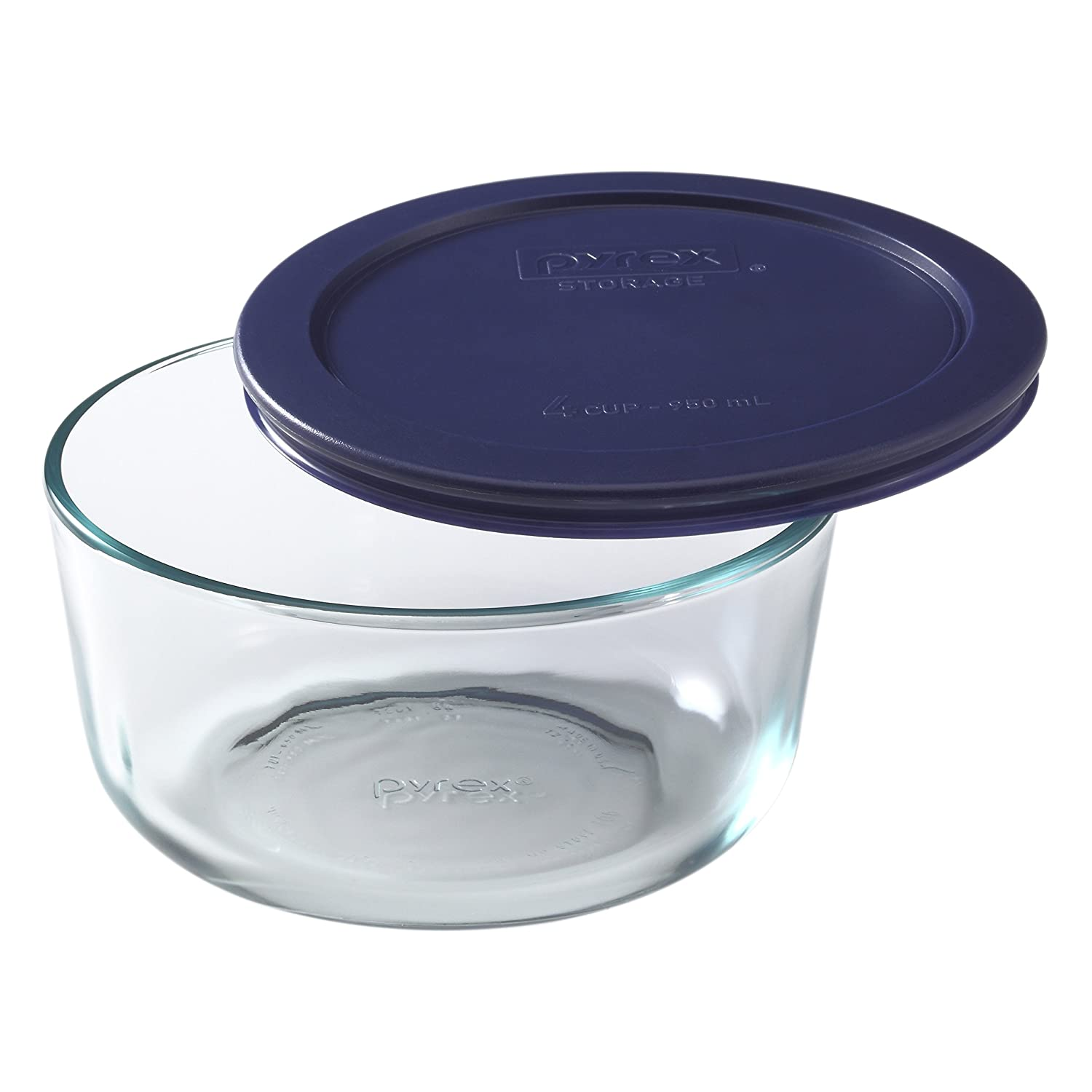 Perfect Amazon.com: Pyrex Simply Store 10 Piece Glass Food Storage Set With Blue  Lids: Bake And Serve Sets: Kitchen U0026 Dining