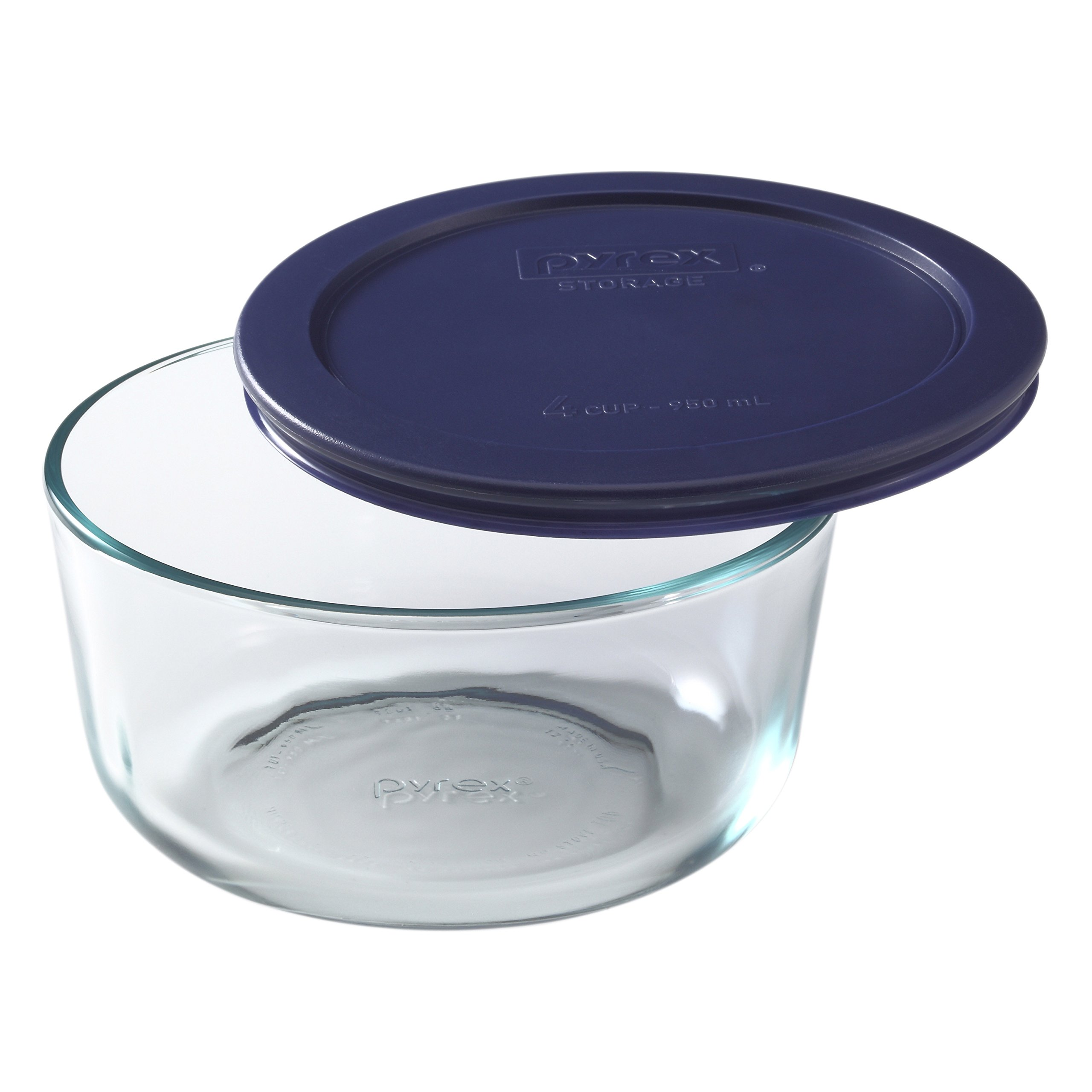 Pyrex Simply Store Glass Food Container Set with Blue Lids (10-Piece) by Pyrex (Image #3)