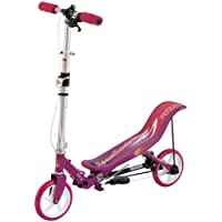 Space Scooter X580, Outdoor und Sport faltbarer Roller, rosa