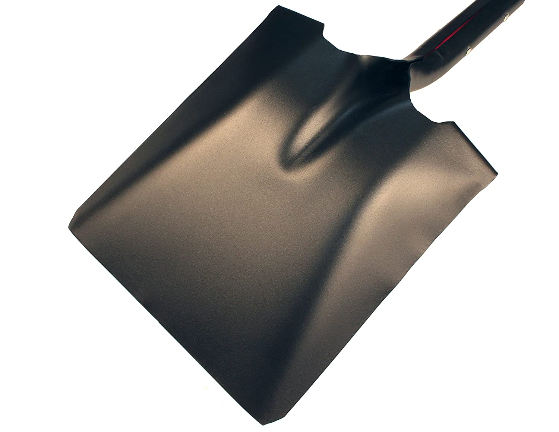 Bully Tools 62525 50.5 in Fiberglass Long Handle 14-Gauge Steel Square Point Shovel
