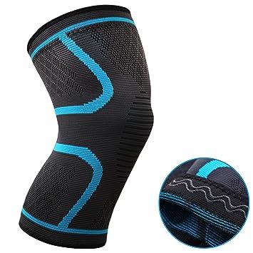 oxoxo Med – Rodillera con ergonómico ajuste mediante 3d de tejido – No deslizamiento Gracias a