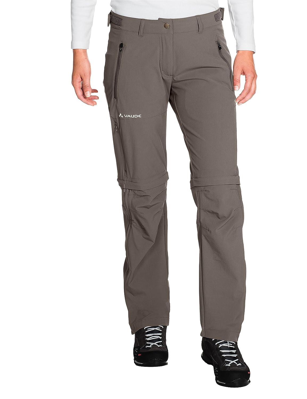 VAUDE Farley ZO para Mujer Pantalones Stretch T-Zip Pants