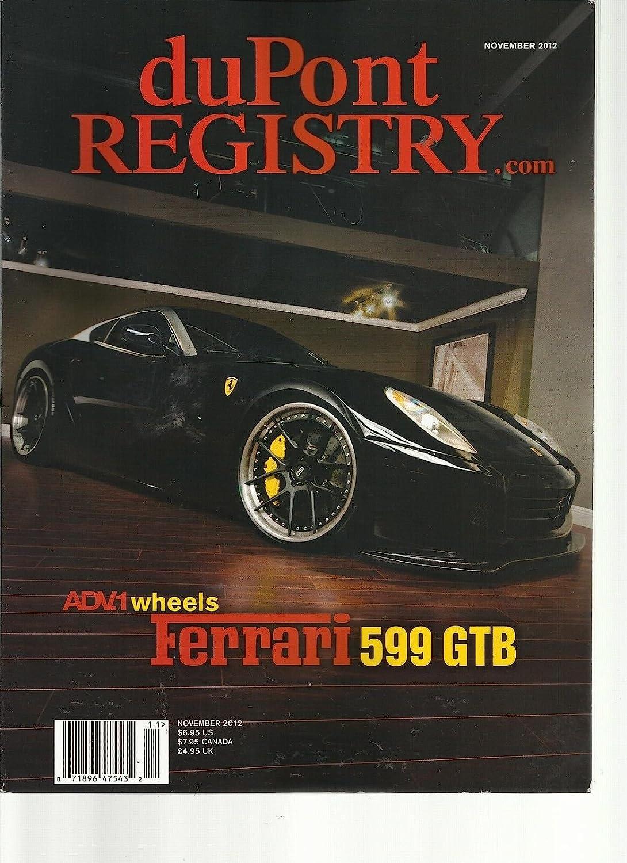Amazoncom Dupont Registry November 2012 Adv1 Wheels