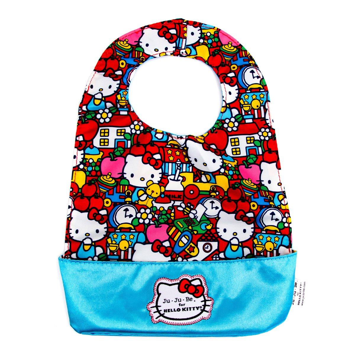 Ju-Ju-Be Hello Kitty Collection Be Neat Reversible Bib, Tick Tock