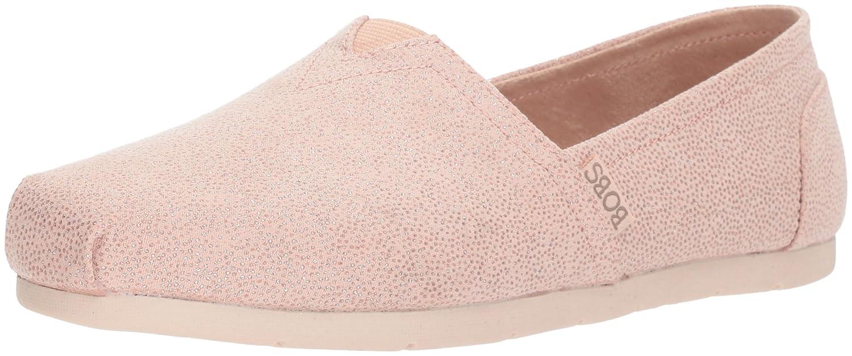 Skechers BOBS from Women's Luxe Bobs-Sparkle Dot Ballet Flat B074KJX2WQ 8.5 M US|Light Pink
