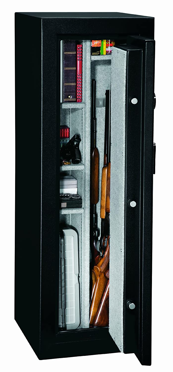 Fire Safe Cabinets Amazoncom Stack On Fs 14 Mb E 14 Gun Fire Resistant Safe With