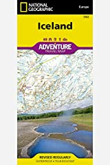 Iceland (National Geographic Adventure Map) Map
