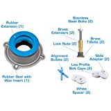 NEXT BY DANCO All-in-One Toilet Installation Kit
