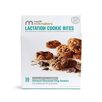Amazoncom Milkmakers Lactation Cookie Bites Oatmeal Chocolate