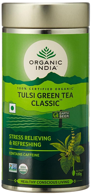 Organic India THE TULSI GREEN TEA: Amazon.de: Küche & Haushalt