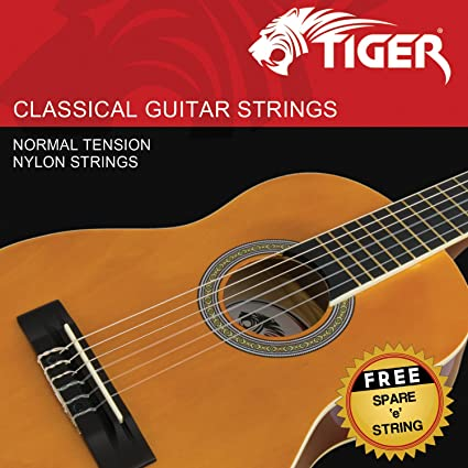 Tiger P1 - Cuerdas para guitarra clásica: Amazon.es: Instrumentos ...