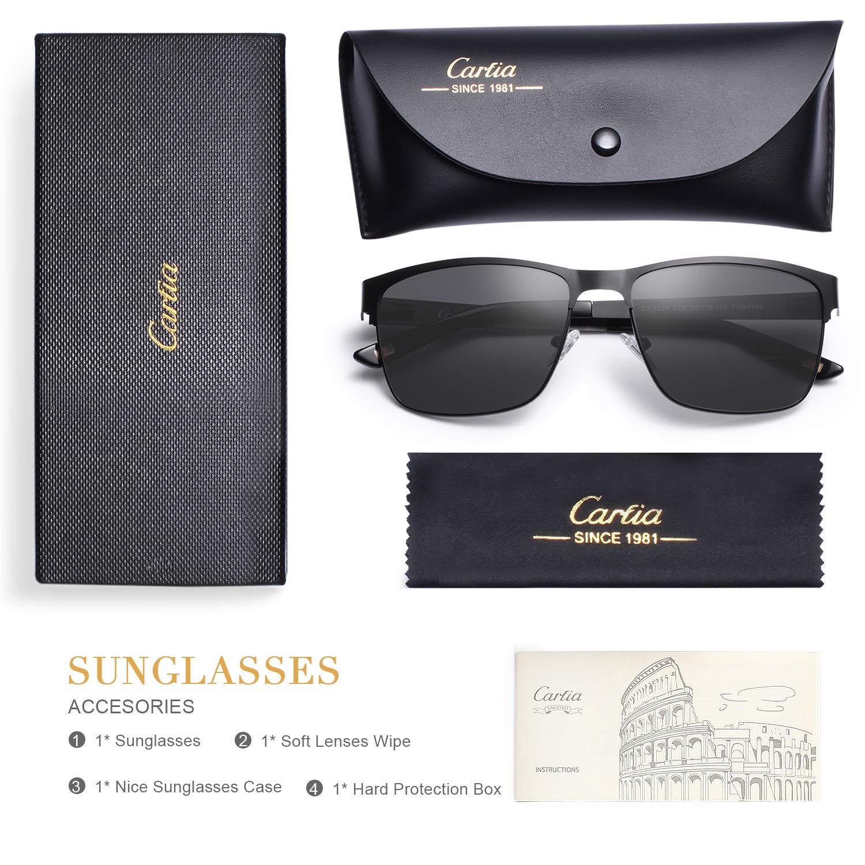 8a02114a6d75 Carfia Polarized Sunglasses for Men