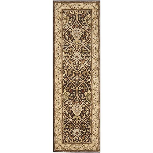 Safavieh Persian Legend Collection PL819J Handmade Traditional Brown and Beige Wool Runner 2 6 x 12