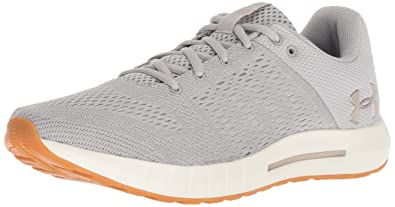 5d61be13122f1 Under Armour Women's Micro G Pursuit Running Shoe,, Ghost Gray (109)/Ivory,  10.5 M