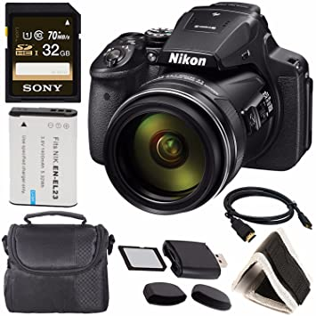 Amazon.com: Nikon Coolpix P900 26499 + Batería recargable Li ...