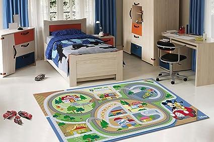 Tappeti Per Bambini Disney : Cm tappeto per bambini bambine marca di disney amazon