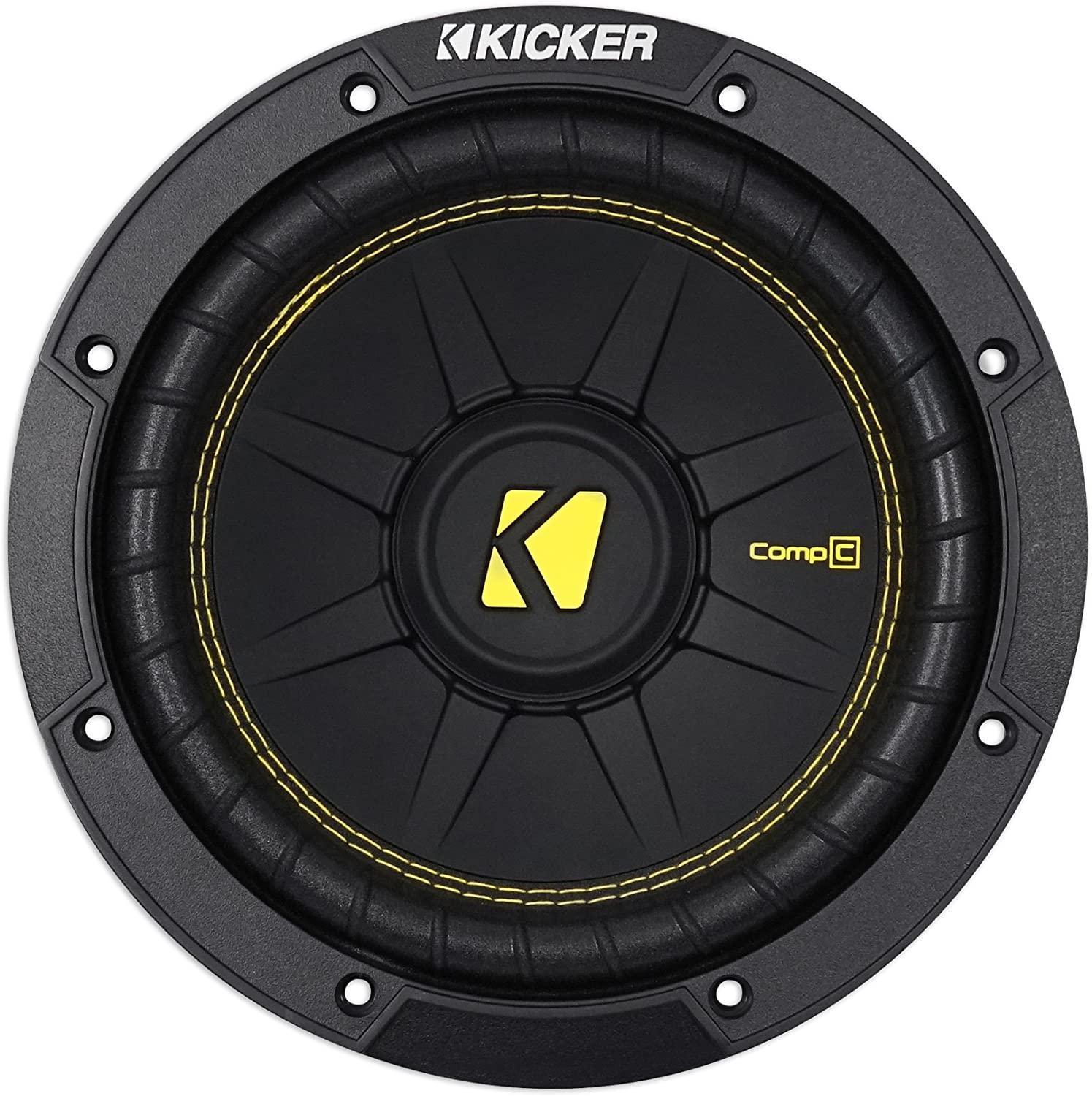 Kicker 44CWCD84 CompC 8 Inch Car Subwoofer