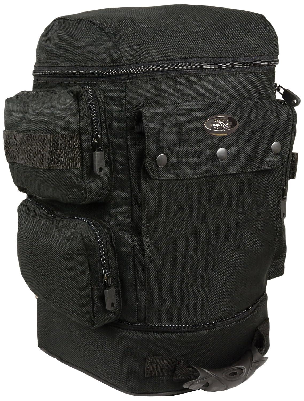 Milwaukee SH688-BLK-PCS Black 1200D Nylon Helmet/Sissy Bar Bag