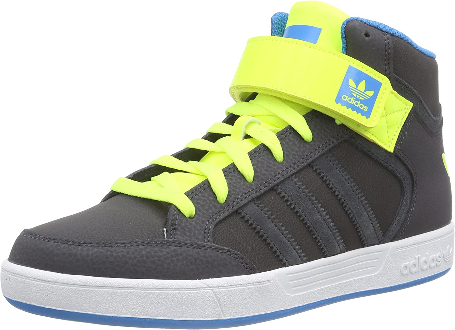 adidas Varial Mid, Sneakers Hautes Homme Gris (DGH Solid