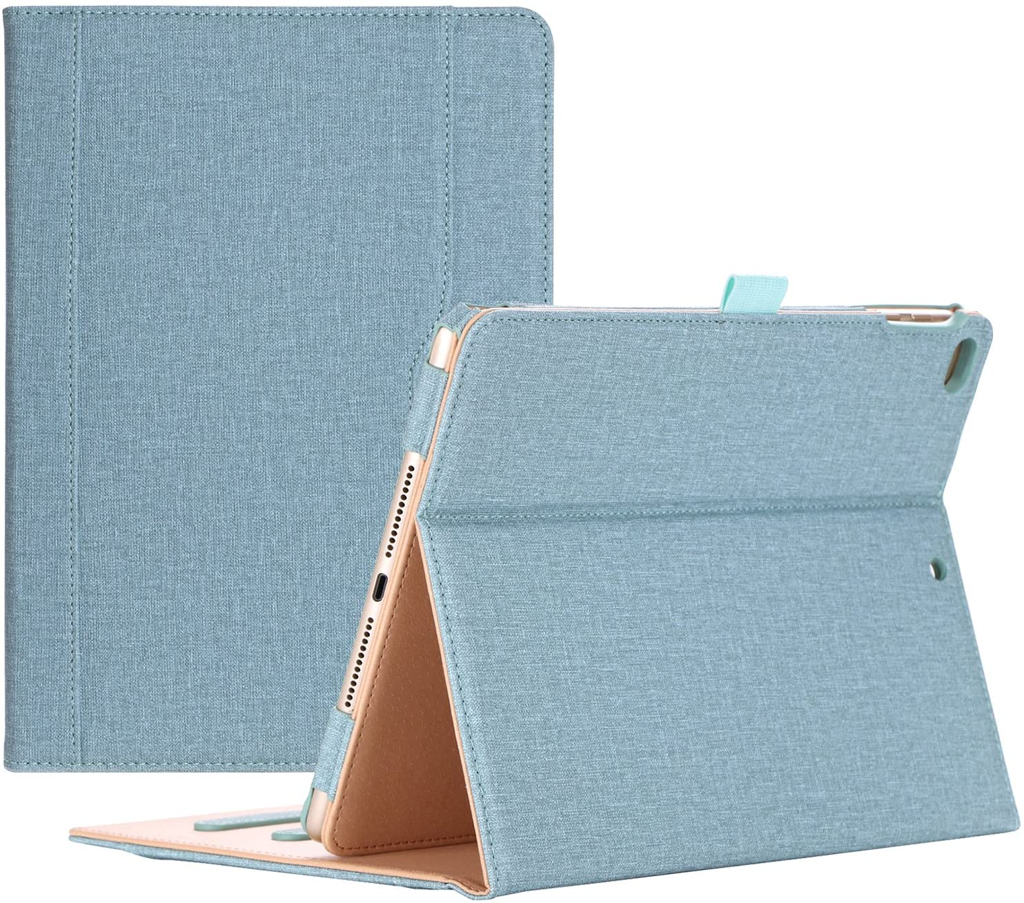 ProCase iPad 9.7 Case 2018/2017 iPad Case - Stand Folio Cover Case for Apple iPad 9.7 inch, Also Fit iPad Air 2 / iPad Air -Teal