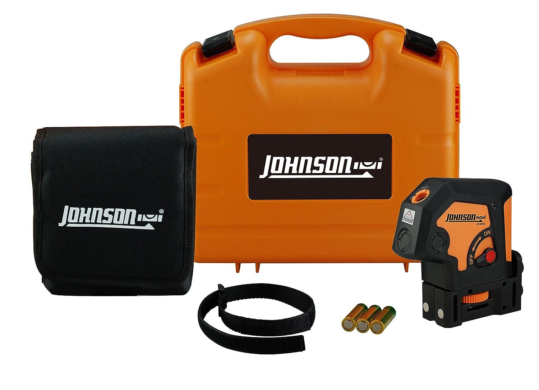 Johnson Level Tool 40 6692 Self Leveling 2 Dot Laser