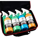 Shine Society Complete Car Detailing Kit, Portable Cleaning Kit That Fits in Your Trunk, Carrying Case Included