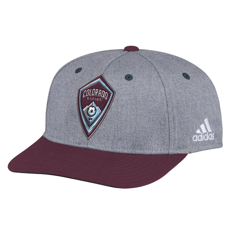 uk availability 69dbc 70439 MLS Colorado Rapids Adult Men 2-Tone Structured Adjustable, One Size, Gray,  Baseball Caps - Amazon Canada