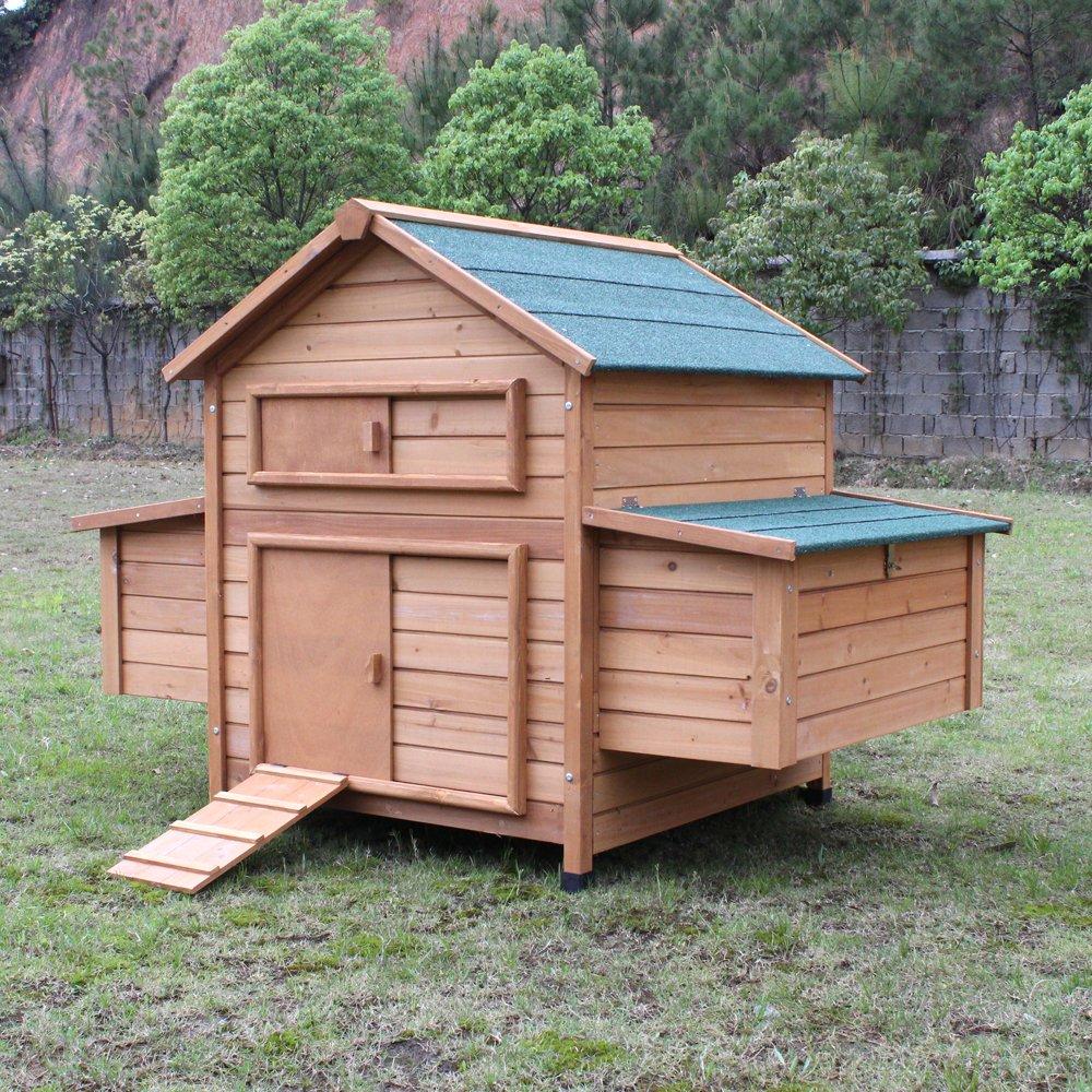 Hühnerstall Hühnerhaus Chickenhouse Nr. 02 Gluckshaus mit legebox und Wanne