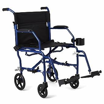 Amazon.com: Silla de ruedas Medline, ultraliviana, con ...
