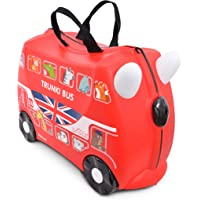 Trunki Boris The London Bus Ride On Suitcase
