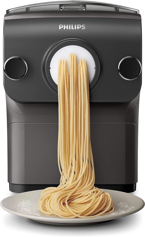 Philips Avance Collection HR2382/10 máquina de pasta y ravioli Máquina eléctrica para elaborar pasta fresca - Máquina para pasta (200 W, 220-240 V, 50-60 Hz, 200 W, 1 pieza(s), 6,9 kg): Amazon.es: Hogar