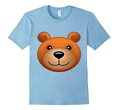 amazon com teddy bear emoji halloween costume bear face emoji clothing
