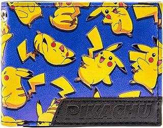 Pokemon Pikachu Mouse Felice elettrico Blu portafoglio 28264