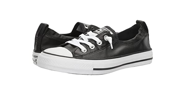 3c4f68d46b6d Converse Chuck Taylor All Star Shoreline Black White Black Lace-Up Sneaker  - 7 B(M) US