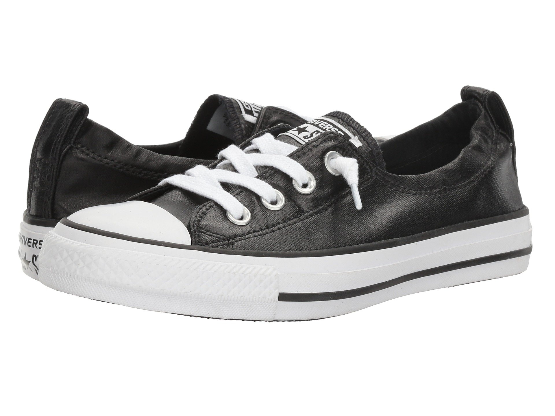 03e6c843b36f Galleon - Converse Chuck Taylor All Star Shoreline Black White Black Lace-Up  Sneaker - 8 B(M) US