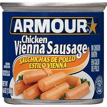Armour Star Chicken Vienna Sausage, 4.6 oz.