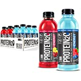 Protein2o 15g Whey Protein Infused Water Plus Energy, Variety Pack, 16.9 oz Bottle (12 Count)