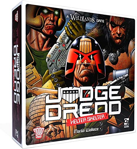 Judge Dredd: Helter Skelter (Wildlands): Wallace, Martin: Amazon.es: Juguetes y juegos