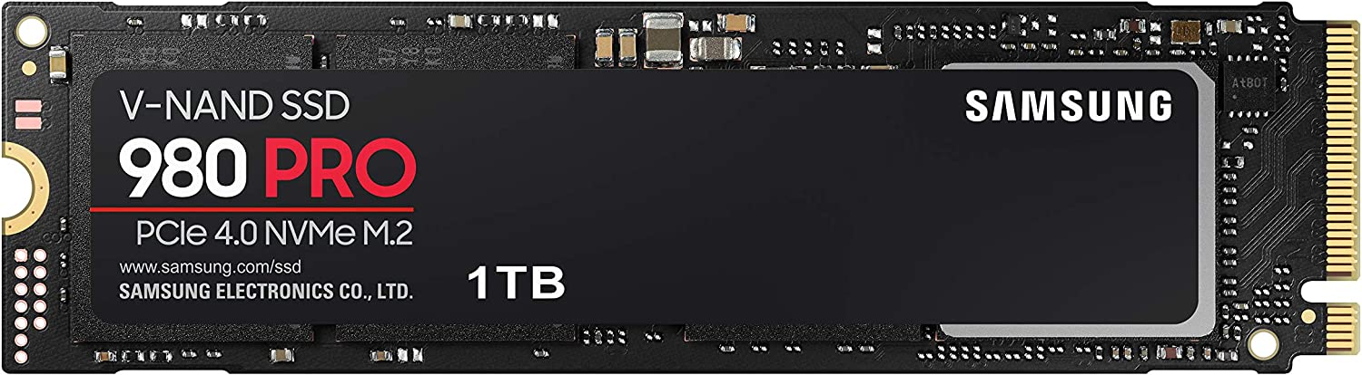 Samsung 980 Pro 1 to M.2 NVMe Internal Solid State Drive (SSD)  (MZ-V8P1T0BW): Amazon.fr: Informatique