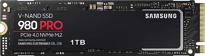 SAMSUNG 980 PRO 1TB PCIe NVMe Gen4 Internal Gaming SSD M.2 (MZ-V8P1T0B)   Amazon