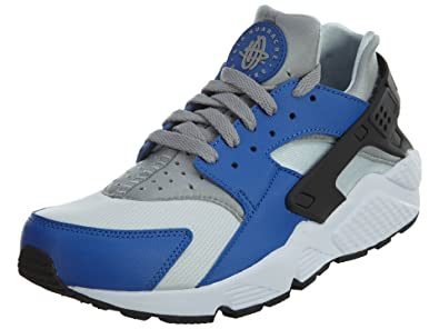 best website 49707 9f8bd Nike AIR Huarache Mens Fashion-Sneakers 318429-406 10 - Comet Blue Matte  Silver